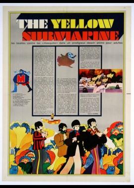 affiche du film YELLOW SUBMARINE (THE)