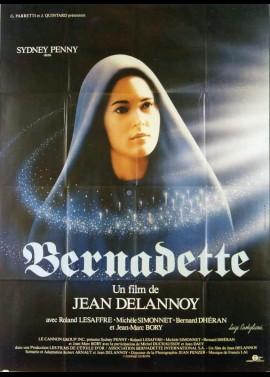 affiche du film BERNADETTE