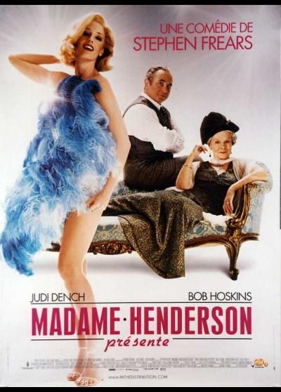 MRS. HENDERSON PRESENTS movie poster