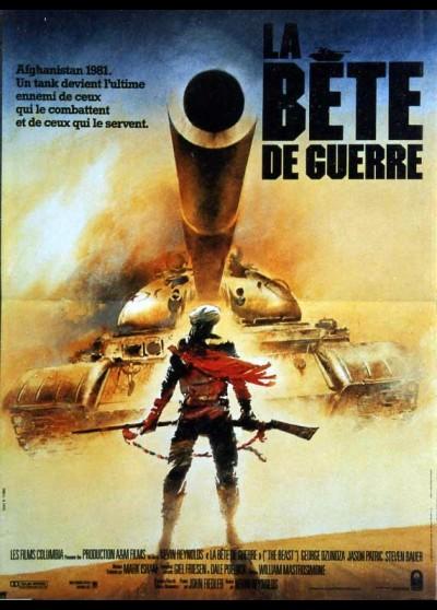affiche du film BETE DE GUERRE (LA)