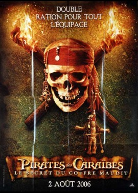 PIRATES OF THE CARRIBEAN DEAD MAN'S CHEST movie poster