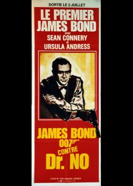 affiche du film JAMES BOND 007 CONTRE DOCTEUR NO