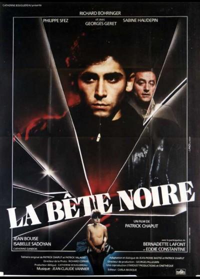 affiche du film BETE NOIRE (LA)
