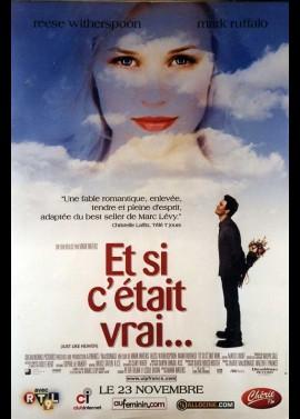 affiche du film ET SI C'ETAIT VRAI