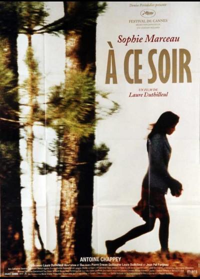 affiche du film A CE SOIR
