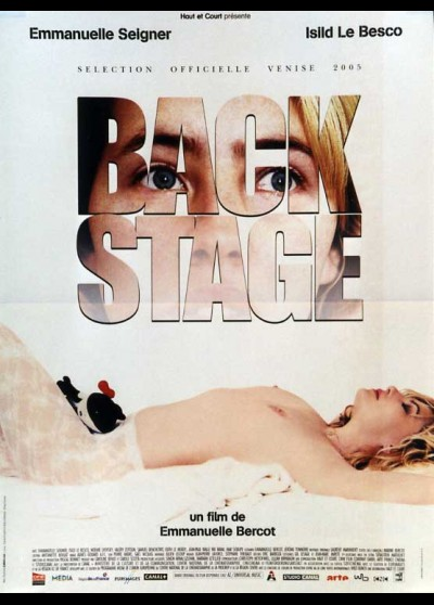 BACKSTAGE movie poster