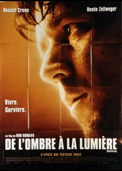 affiche du film DE L'OMBRE A LA LUMIERE