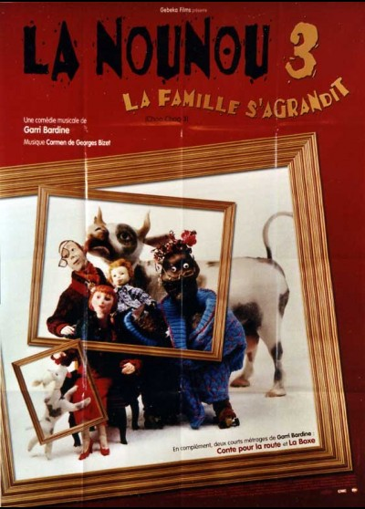 affiche du film NOUNOU 3 (LA)