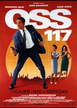 affiche du film OSS 117 LE CAIRE NID D'ESPIONS