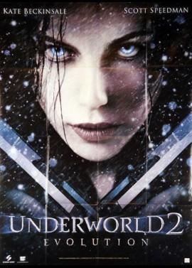 affiche du film UNDERWORLD 2 EVOLUTION