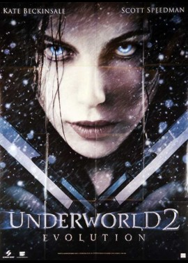 UNDERWORLD EVOLUTION movie poster