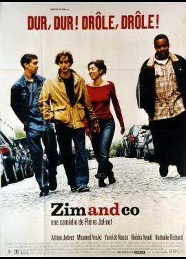affiche du film ZIM AND CO