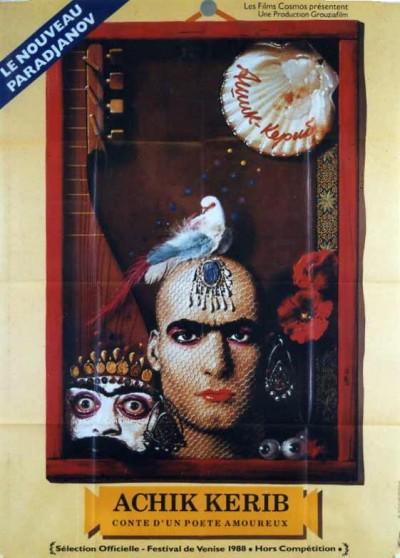 affiche du film ACHIK KERIB CONTE D'UN POETE AMOUREUX