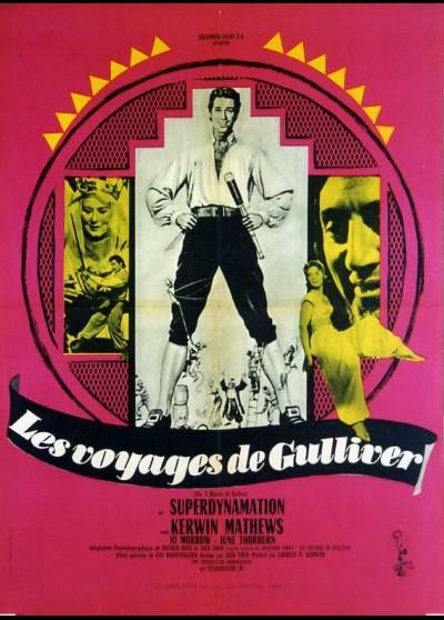 affiche du film VOYAGES DE GULLIVER
