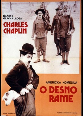 affiche du film CHARLOT SOLDAT