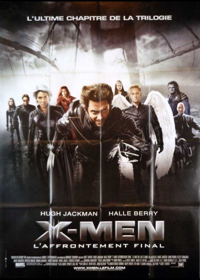 X MEN THE LAST STAND movie poster