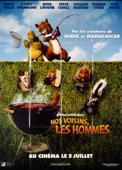 OVER THE HEDGE movie poster