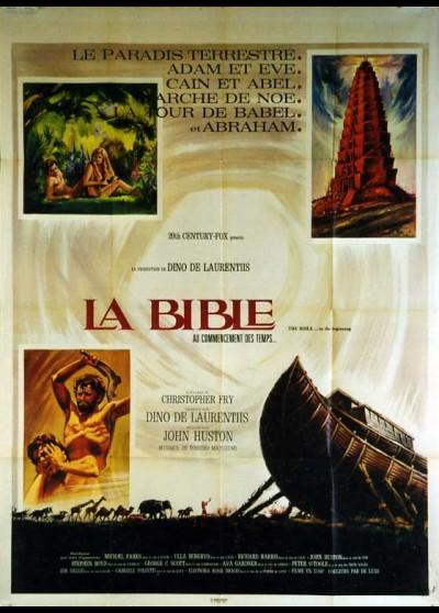 affiche du film BIBLE (LA)