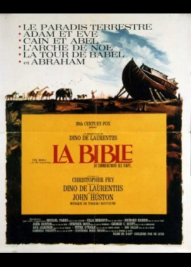 BIBLE IN THE BEGINNING (THE) movie poster