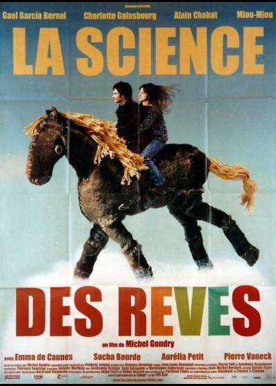 SCIENCE DES REVES (LA) movie poster