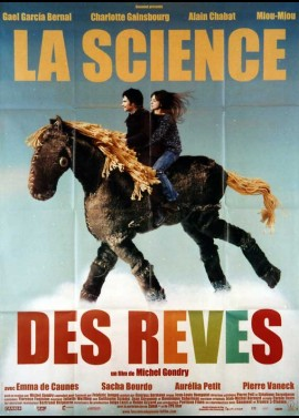 SCIENCE DES REVES (LA) movie poster