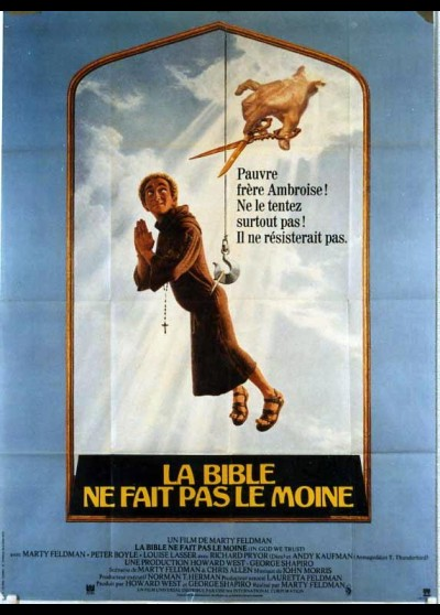 affiche du film BIBLE NE FAIT PAS LE MOINE (LA)