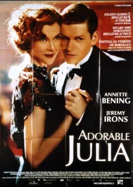affiche du film ADORABLE JULIA