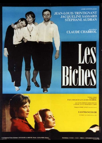 BICHES (LES) movie poster