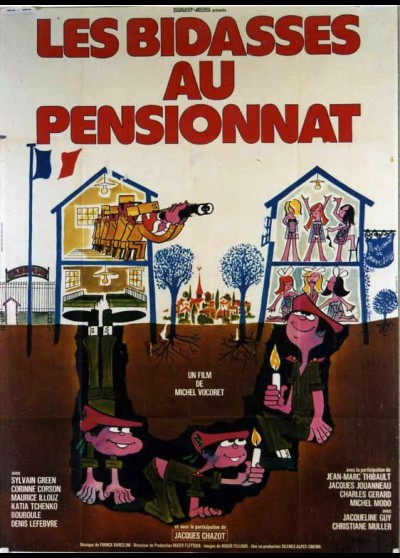 affiche du film BIDASSES AU PENSIONNAT (LES)