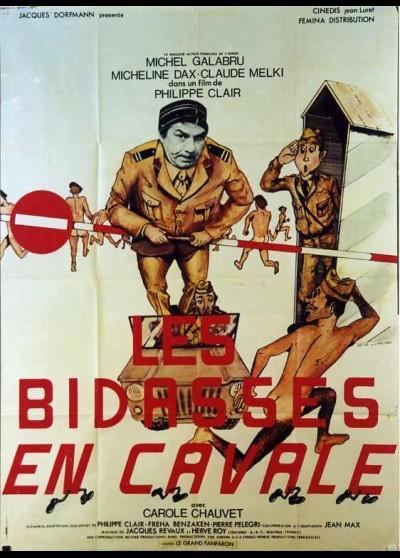affiche du film BIDASSES EN CAVALE (LES)