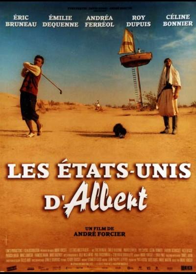 affiche du film ETATS UNIS D'ALBERT (LES)