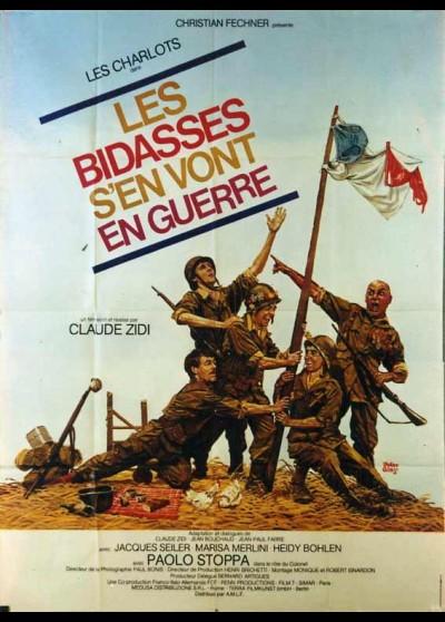 affiche du film BIDASSES S'EN VONT EN GUERRE (LES)
