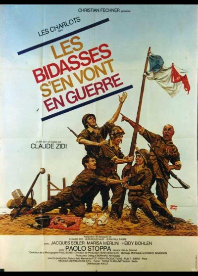 BIDASSES S'EN VONT EN GUERRE (LES) movie poster