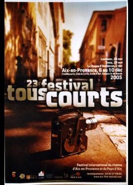 affiche du film FESTIVAL TOUS COURTS AIX EN PROVENCE