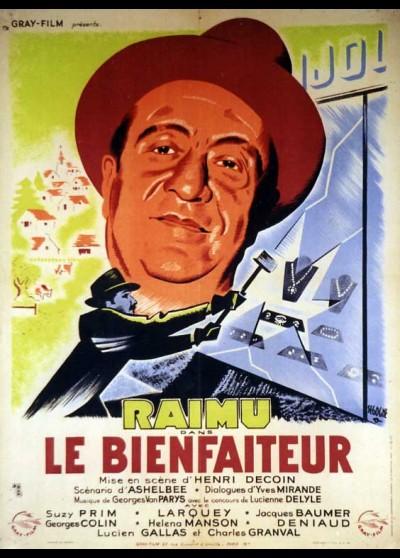 affiche du film BIENFAITEUR (LE)