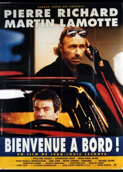 affiche du film BIENVENUE A BORD