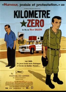 affiche du film KILOMETRE ZERO