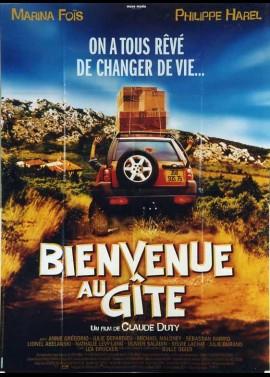 affiche du film BIENVENUE AU GITE