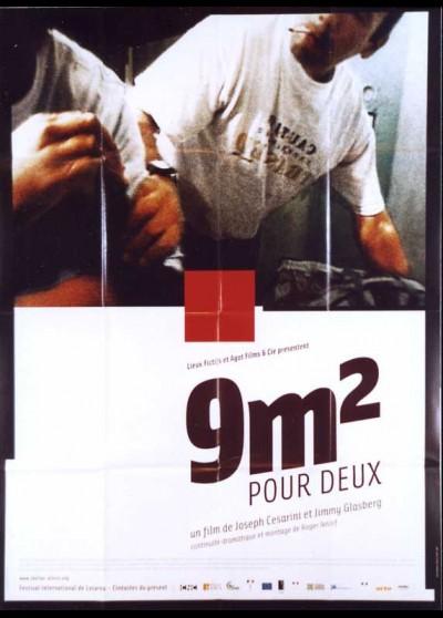affiche du film NEUF M2 POUR DEUX / NEUF METRES CARRE POUR DEUX