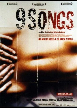 affiche du film NINE SONGS