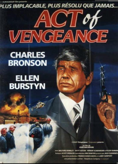 ACT OF VENGEANCE movie poster