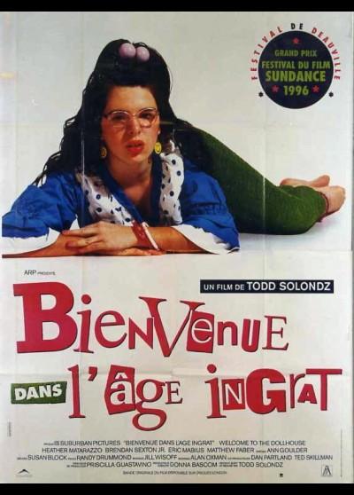 affiche du film BIENVENUE DANS L'AGE INGRAT