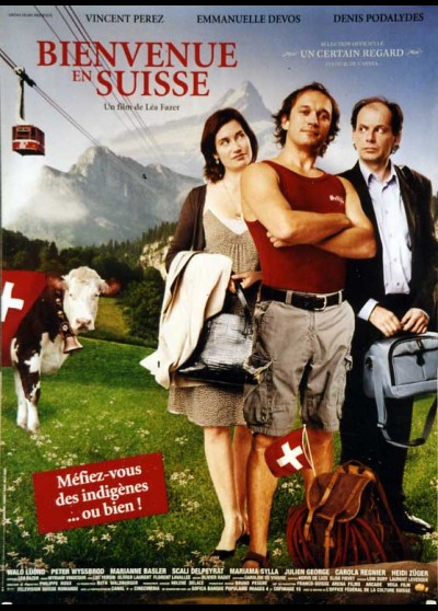 BIENVENUE EN SUISSE movie poster