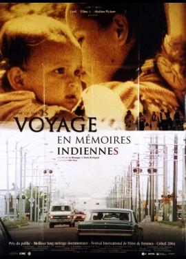 affiche du film VOYAGE EN MEMOIRES INDIENNES