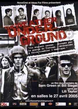 WEATHER UNDERGROUND (THE) movie poster