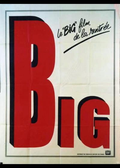 affiche du film BIG