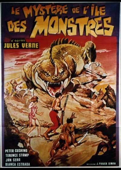 MONSTER ISLAND movie poster