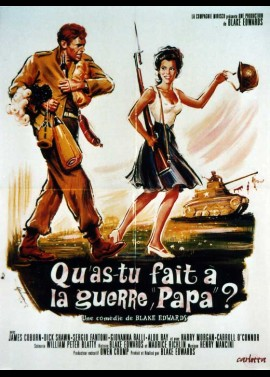 WHAT DID YOU DO ON THE WAR DADDY movie poster