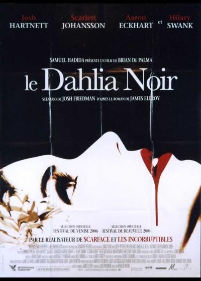 BLACK DAHLIA (THE) movie poster