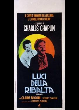 affiche du film FEUX DE LA RAMPE (LES)